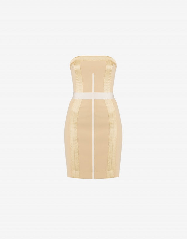 Crêpe bustier dress Inside Out