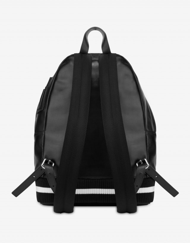 Geometric Logo bomber backpack