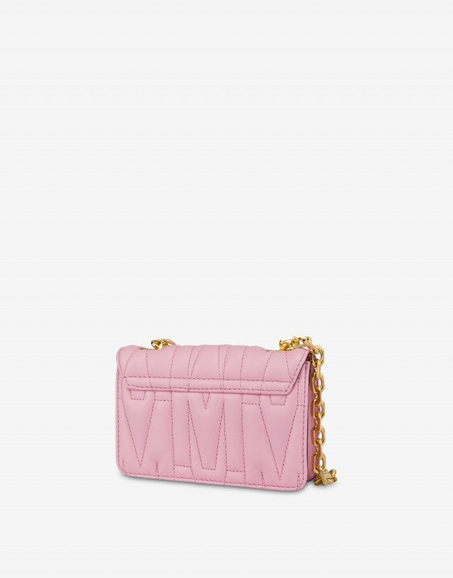 Mini quilted M bag with shoulder strap