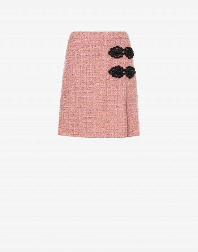 Mat skirt with frogs