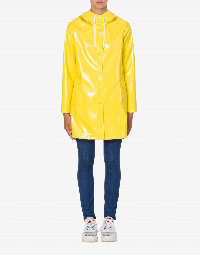 Coated milan point raincoat