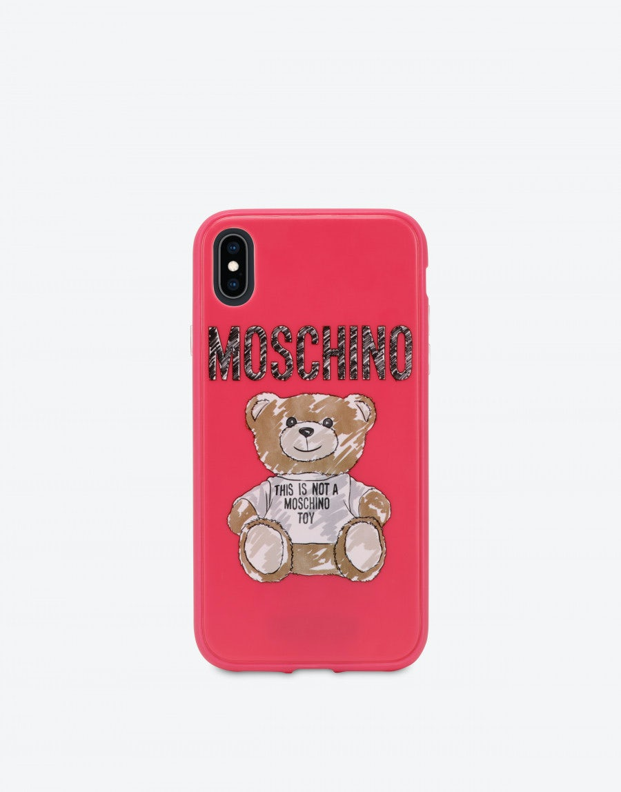 best cheap 3f8e3 78317 Iphone XR cover with Brushstroke Teddy Bear