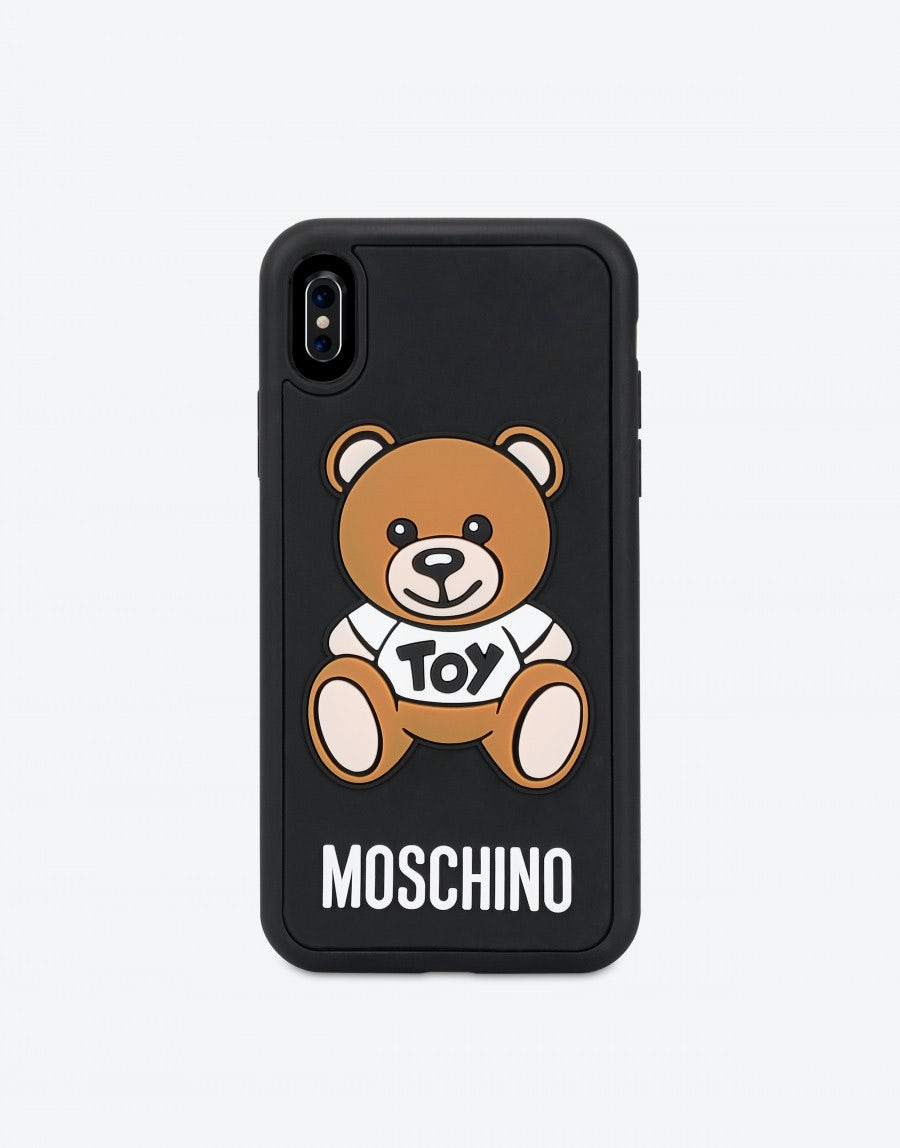 Iphone XS Max cover with Moschino Teddy Bear