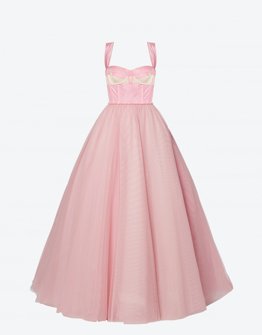 Moschino Linings TULLE DRESS DECONSTRUCTED COUTURE