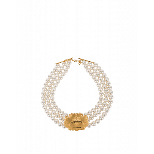 Collier De Perles Made In Heaven - Moschino - Modalova