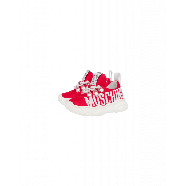 Sneakers Teddy Shoes Avec Logo - Moschino - Modalova