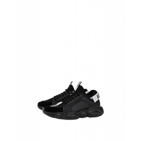 Sneakers Teddy Shoes Avec Logo Jacquard - Moschino - Modalova