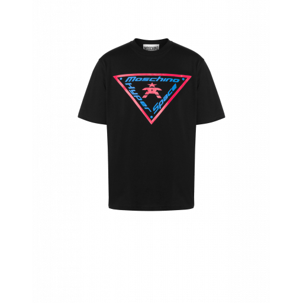 T-shirt En Jersey Moschino Hyper Space