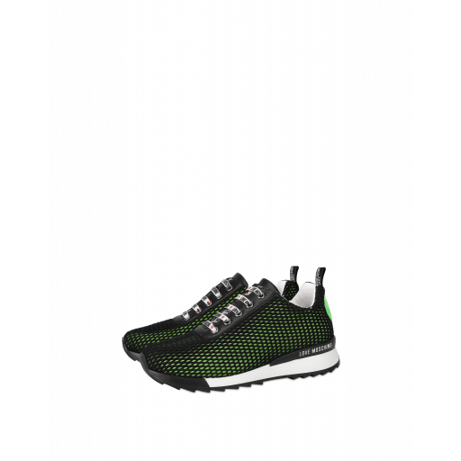Scuba-mesh Sneakers With Heart